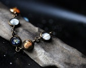 Solar System Bracelet - Milky Way Galaxy, Planet Jewelry - Astronomy, Space, Universe, Planetary Jewelry - Unique Jewellery by Jerseymaids