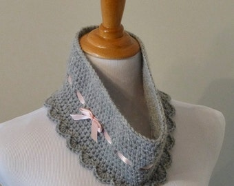 Sweet Gracie Cowl - Crochet PATTERN - INSTANT DOWNLOAD