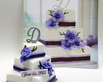 Custom Wedding Cake Miniature Replica  - DEPOSIT - Please read item description