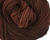 Mohonk Hand Dyed sport weight NYS Wool 370 yds 4oz Dark Roast