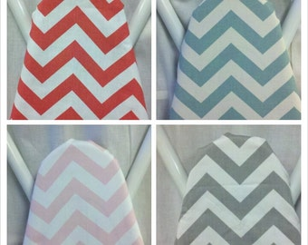 CHEVRON IRONING BOARD Cover- Colors- Zigzag -fuchsia - lime- yellow- red- navy- pink- black -grey- turquoise- orange -coral -brown