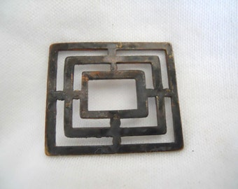 Unusual Industrial Geometric Vintage Stamping