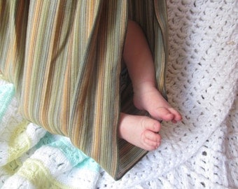 Midwifery Weighing Sling- Handloomed Cotton - beautiful keepsake or photo prop