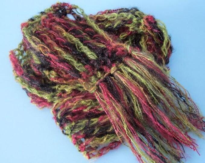 The Longstitch Express - PDF Crochet Scarf Pattern