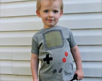 toddler boys gameboy shirt