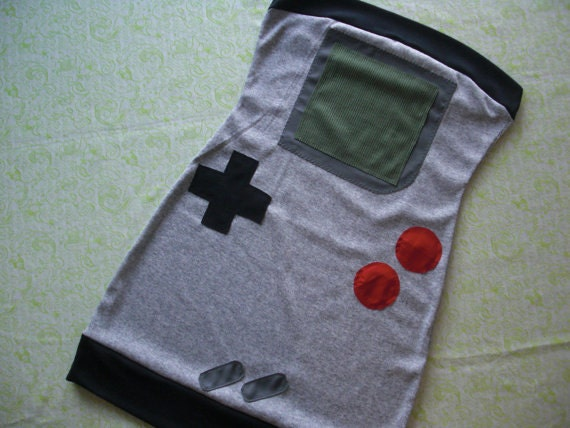 handheld gameboy dress