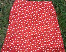 60s Apple Skirt Girls 6/7