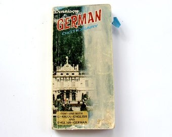 Dennison 1968 German Pocket Dictionary