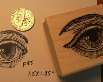 Eye rubber stamp p30
