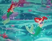 Disney Princess Frozen Anna Elsa Ariel Little Mermaid Belle Cinderella Rapunzel Snow White Aurora Hair Scrunchie