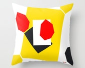 Decorative pillows for couch - Geometric throw pillow cover - Abstract pillow - designer pillow - Modern pillow case - Artistic cushion