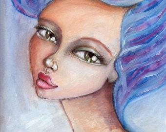 Blue Beauty - Art Print