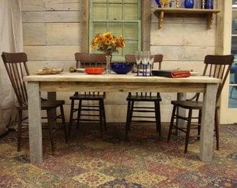 """Driftwood Table -  (65""""L x 38""""W x 29""""H)"""