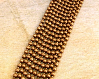 Ball Chain, Antique Brass, 2.3 mm,  6 Ft., AB60