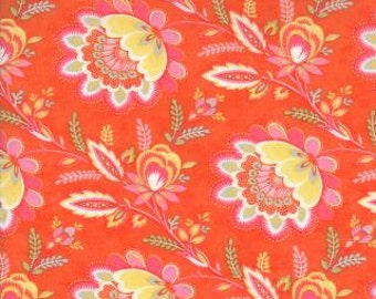 1 yard High Street Clementine Flower Moda Fabric by Lily Ashbury