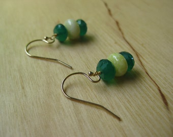 Insouciant Studios Spring Green Earrings