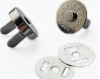 Magnetic Bag Fastener 18mm Pack of 2