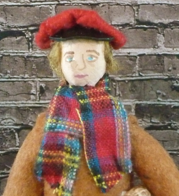 Tiny Tim A Christmas Carol: Tiny Tim Doll Dickens Christmas Carol God Bless Us Everyone