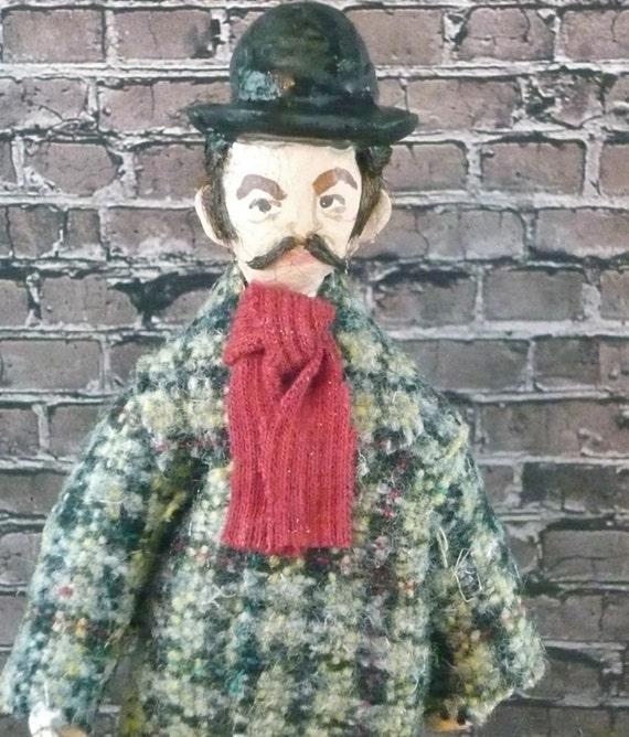 Dr. Watson Doll Miniature Sherlock Holmes Art Character