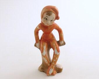 Vintage Figurine Pixie Elf
