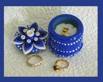 Ring, Jewelry keepsake Gift Box Star