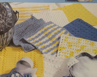 The Big Book of Dishcloths Crochet Pattern Book Leisure Arts