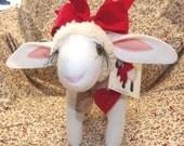 Lamb Doll Made to Order Springtime or Anytime Lamb Ewe Sheep Doll Plush