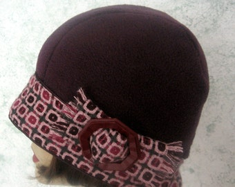 Womens Flapper Hat Pattern With Brim circa 1920s Style  Easy To Make May Resell Finished