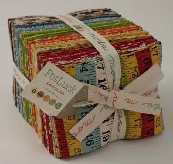 Fat Quarter Set--Pot Luck by American Jane for Moda