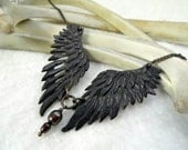Thieving Magpie -- Handmade Necklace in a Choice of Bronze or Brass