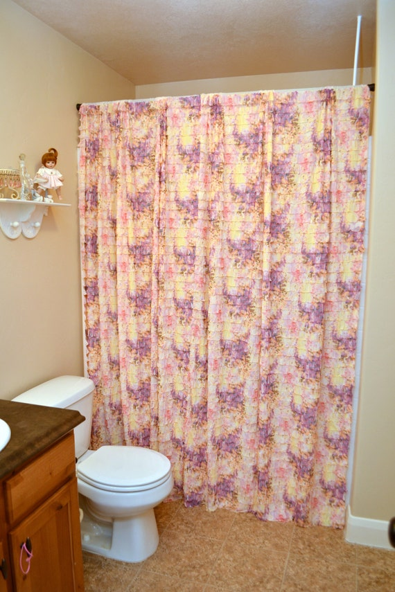 Ruffle Shower Curtain by A Vision to Remember~Available in Many ...