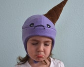 The Sad Ice Cream Hat, Made to Order, Sizes: newborn through adult