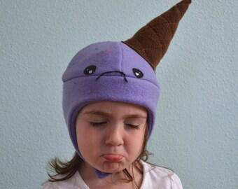The Sad Ice Cream Hat, Sizes: newborn through adult