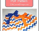 Bow Skirt  PDF Pattern Size 0/3 months - girls 6