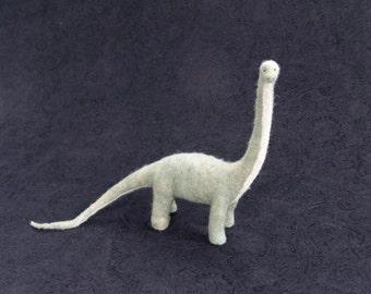 Brontosaurus- Needle Felted Wool Sculpture