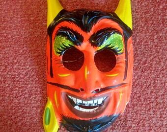 Vintage 1970's Devil Costume