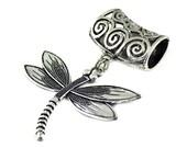 Dragonfly Scarf Charm