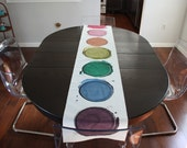 Watercolor Table Runner