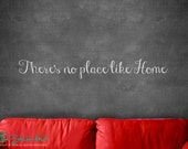 There's no place like home Room Decor - Wizard of Oz - Vinyl Lettering - Sticky Vinyl Wall Accent Art Words Stickers Decals 1628