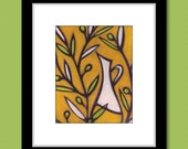 Olive Oil Painting Kitchen Art Print by Heather L. Young