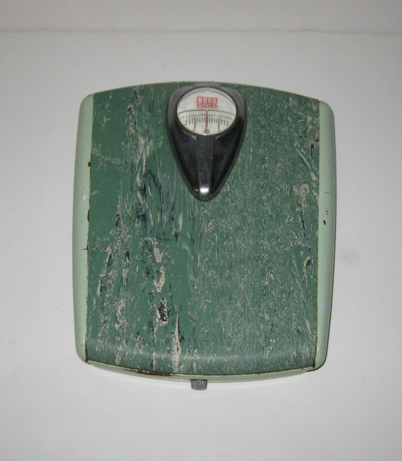 Reserved for jodi vintage borg bathroom scale two tone marbled for Borg bathroom scale