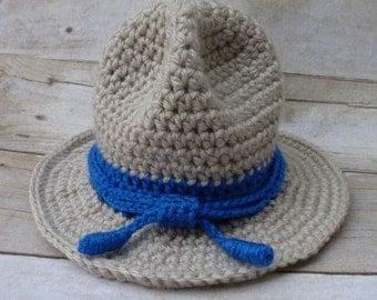 Custom Crochet Highway Patrol - Ranger Baby Hat