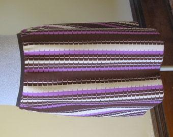 Silky Aline Skirt - Vintage Knit - Comfort Wear - Size Large