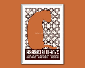 Breakfast at Tiffany's movie poster in various sizes