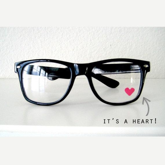 Nerdy Heart Glasses