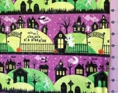 Spooky Night Halloween Fabric By Yard