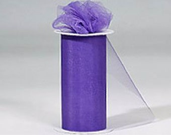 """108"""" x 50 yd  Bolt of Top Quality Made In The USA Tulle Bolt -LAVENDER / LILAC"""