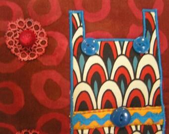 Wall Hanging Fun Textile Art  (tex7)