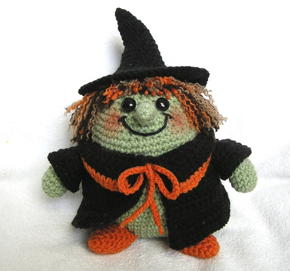 Bvoe668 has the best litlte crochet witch pattern on etsy for $5