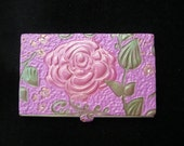 Rose Business Card Card Case